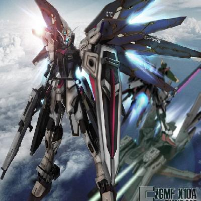 Custom Gundam: Freedom inspired Gundam minus wings 高达自由号