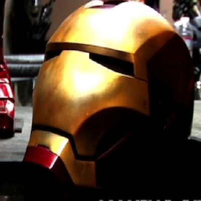 Iron Man Mark III Life-size Helmet 钢铁侠头盔